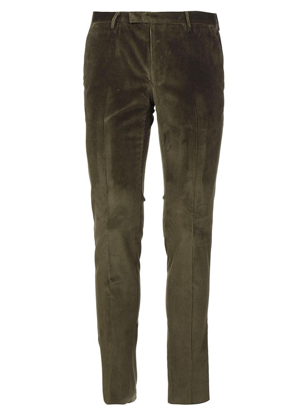 Pt01 Trousers In Verde