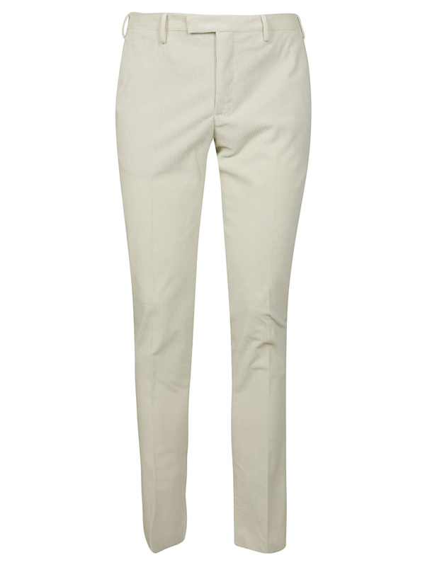 Pt01 Trousers In Bianco