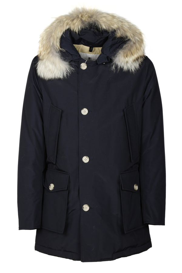 Woolrich Coats In Blu