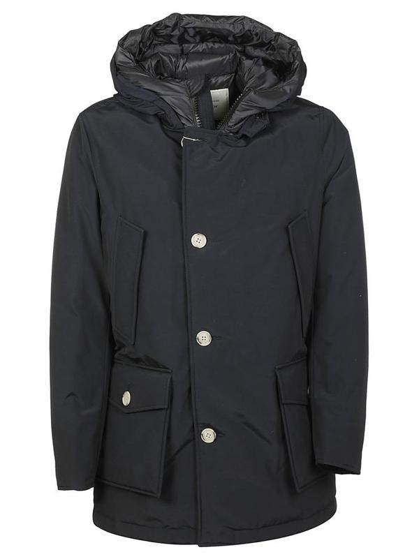 Woolrich Coats In Blu
