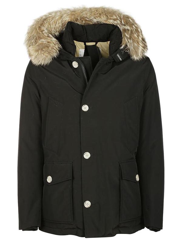Woolrich Coats In Nero