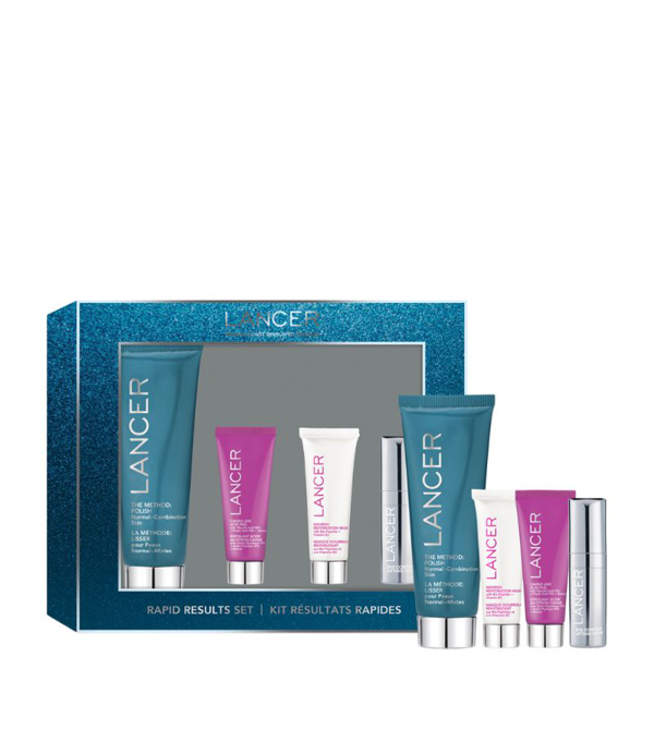 Lancer Rapid Results Four-piece Skincare Gift Set In White