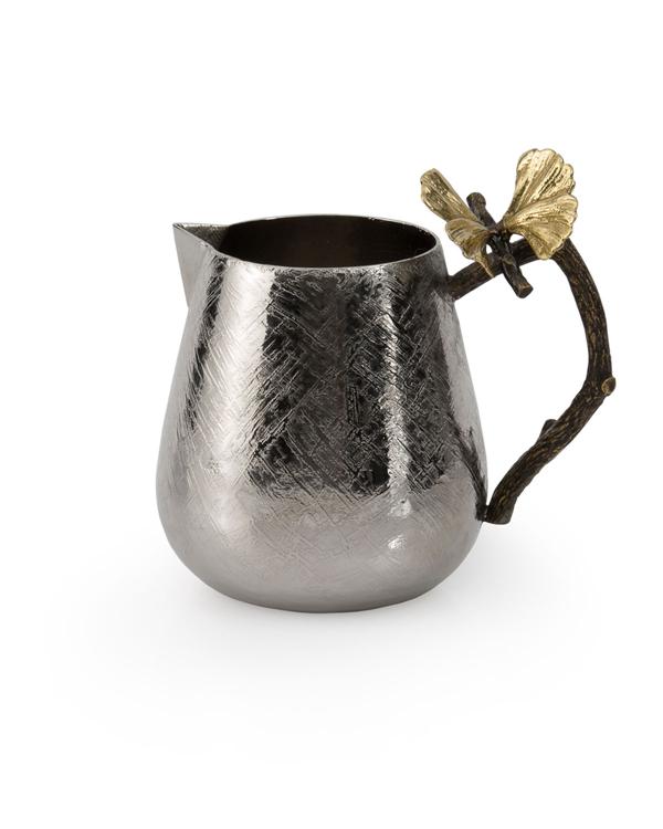 Michael Aram Butterfly Ginkgo Creamer In Silver