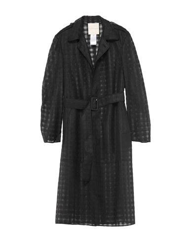 Marco De Vincenzo Overcoats In Black
