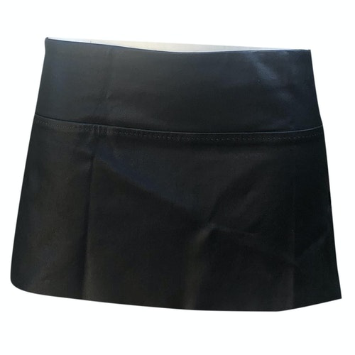 Pre-owned Stouls Black Leather Skirt