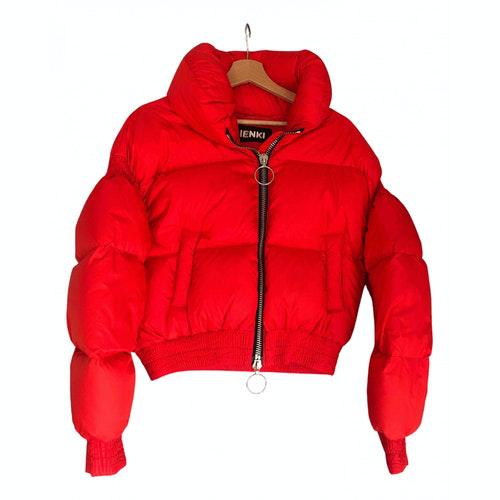 Pre-owned Ienki Ienki Red Jacket