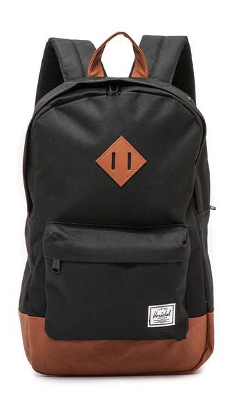 bb259d0bebc Herschel Supply Co.  Heritage Mid Volume  Backpack In Black