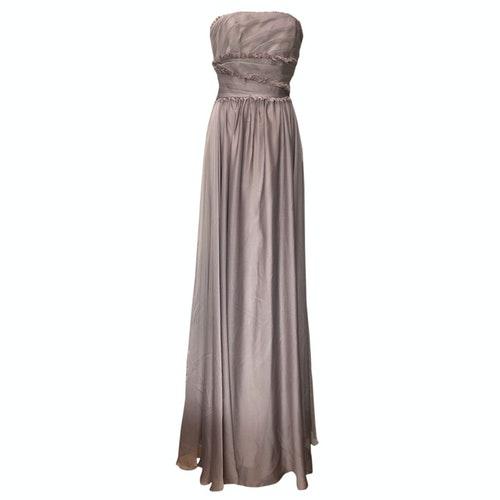 Pre-owned Monique Lhuillier Purple Dress