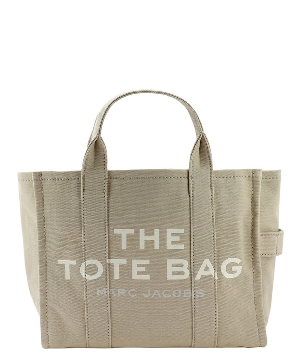 Marc Jacobs The Small Traveler Beige Polyurethane Tote