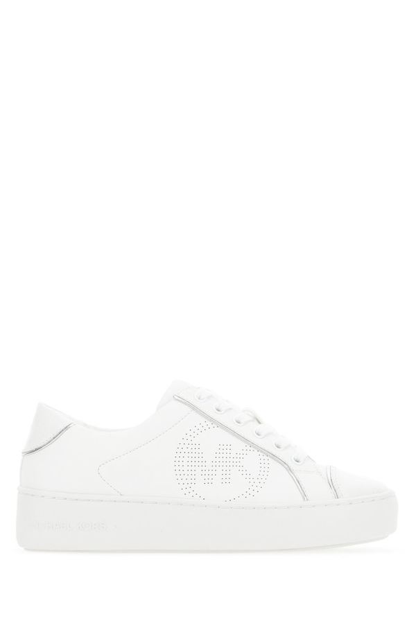 Michael Michael Kors Colby Sneakers In White