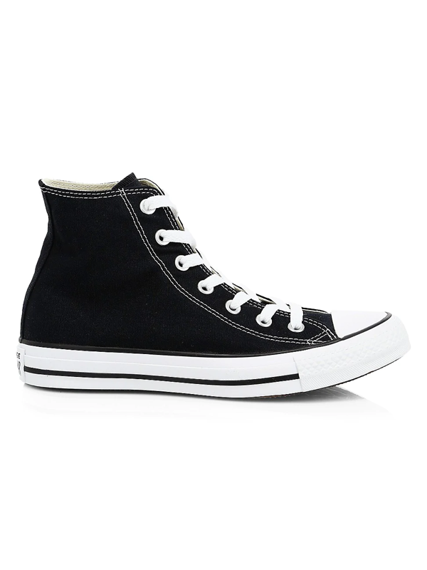 Converse Women's Chuck Taylor All Star Canvas High-top Sneakers In Black