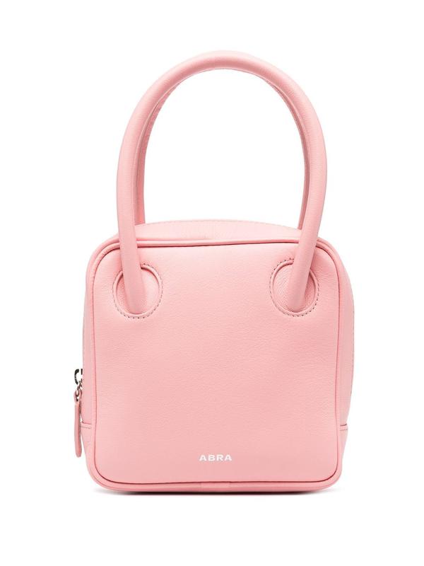 Abra Mini Square Tote In Pink