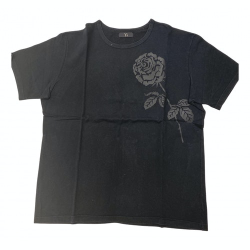 Pre-owned Y's Black Cotton T-shirts