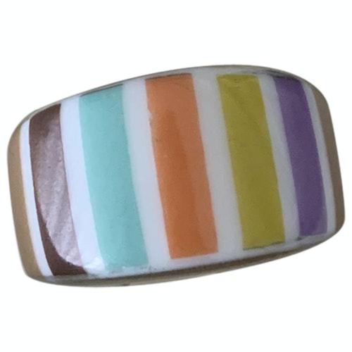 Pre-owned Bernardaud Multicolour Ceramic Ring