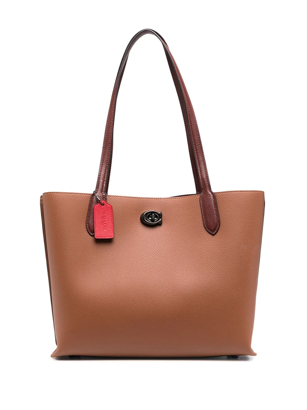 Coach Medium Tote Bag In Brown