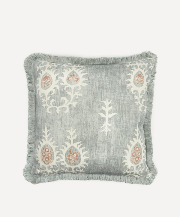 Soho Home Archer Square Cushion In Blue