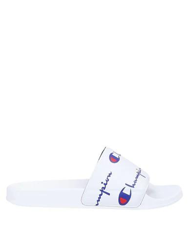 Champion Sandals In White