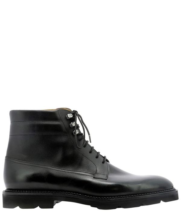 John Lobb Alder Museum Boots In Black