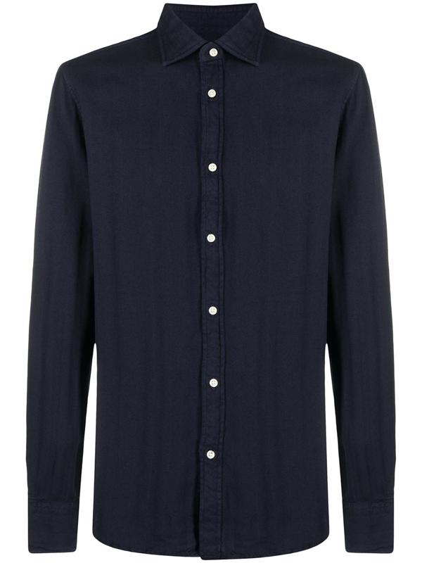 Deperlu William Cotto Shirt In Blue