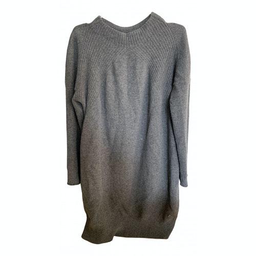 Pre-owned Bogner Grey Cashmere Dress