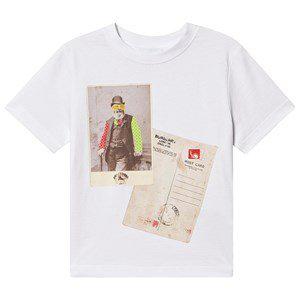 Burberry Kids' White Rave Gent T-shirt