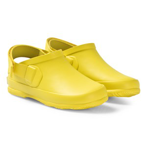 Burberry Yellow Dixon Rubber Sandals