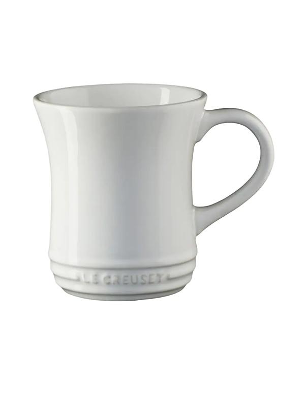 Le Creuset Glazed Tea Mug In White