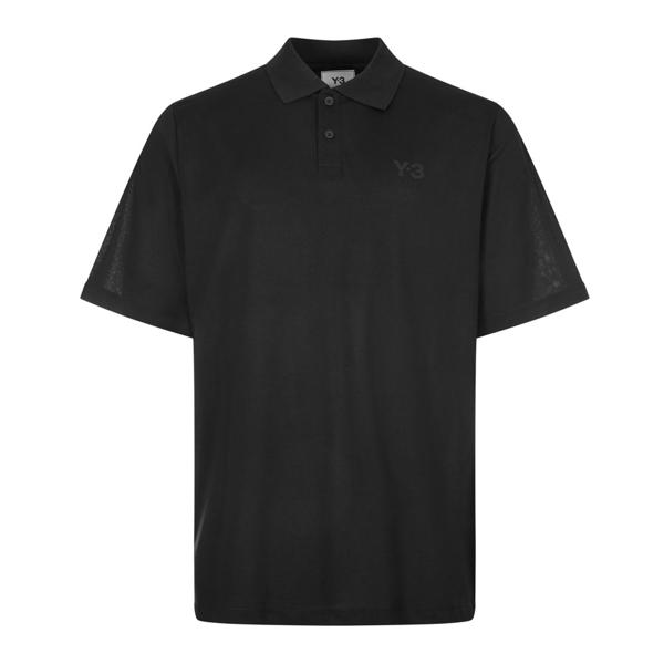Y-3 Polo Shirt - Black