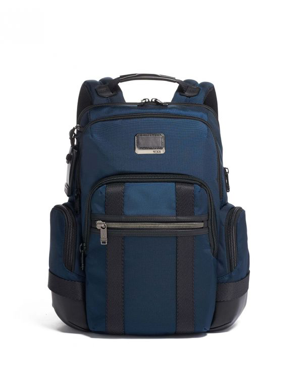 Tumi Nathan Backpack In Navy