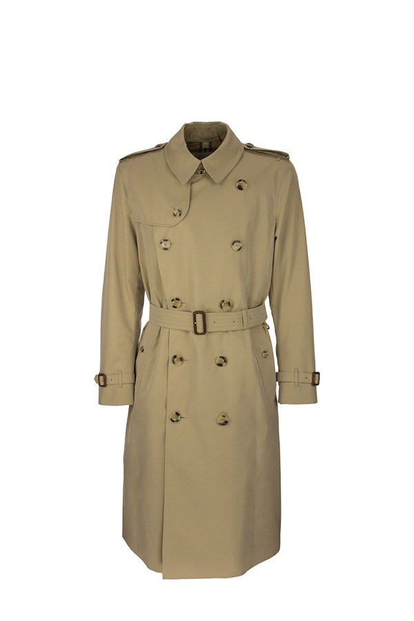 Burberry The Long Kensington Heritage Trench Coat In Honey