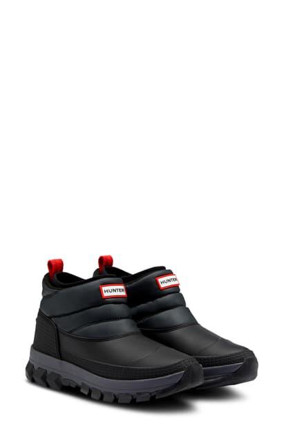 Hunter Original Insulated Waterproof Boot In Mere/ Black