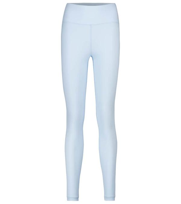 Wardrobe.nyc Release 02 High-rise Jersey Leggings In Blue