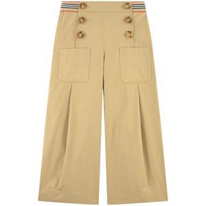 Burberry Kids' Beige Sailor Trousers