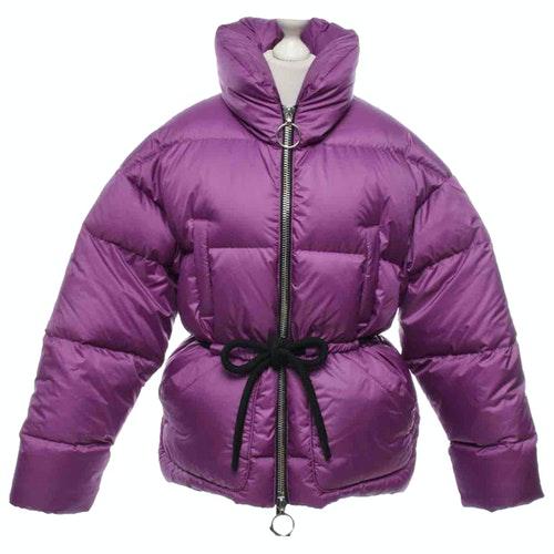 Pre-owned Ienki Ienki Purple Coat