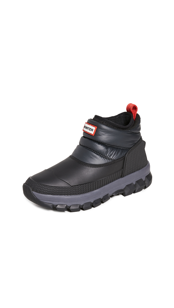 Hunter Original Insulated Snow Boots In Black