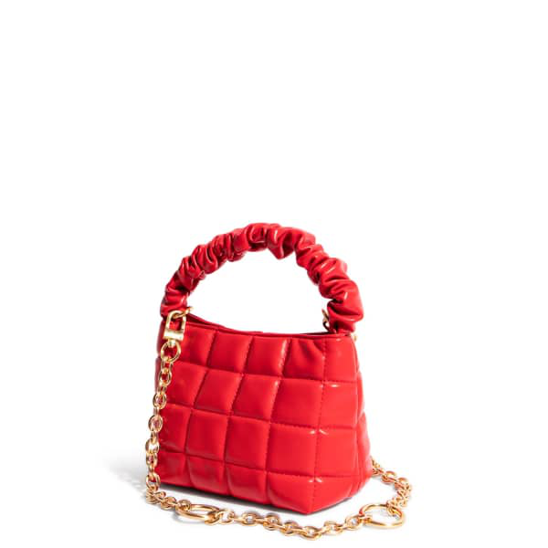 """House Of Want """"h.o.w."""" We Brunch Mini Tote In Red"""