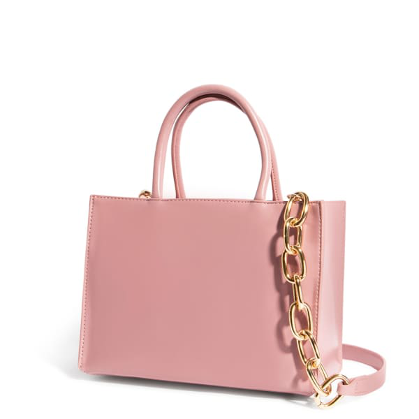 """House Of Want """"h.o.w."""" We Gram Small Tote In Pink"""