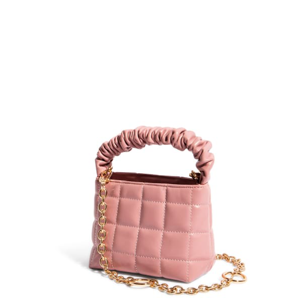 """House Of Want """"h.o.w."""" We Brunch Mini Tote In Pink"""