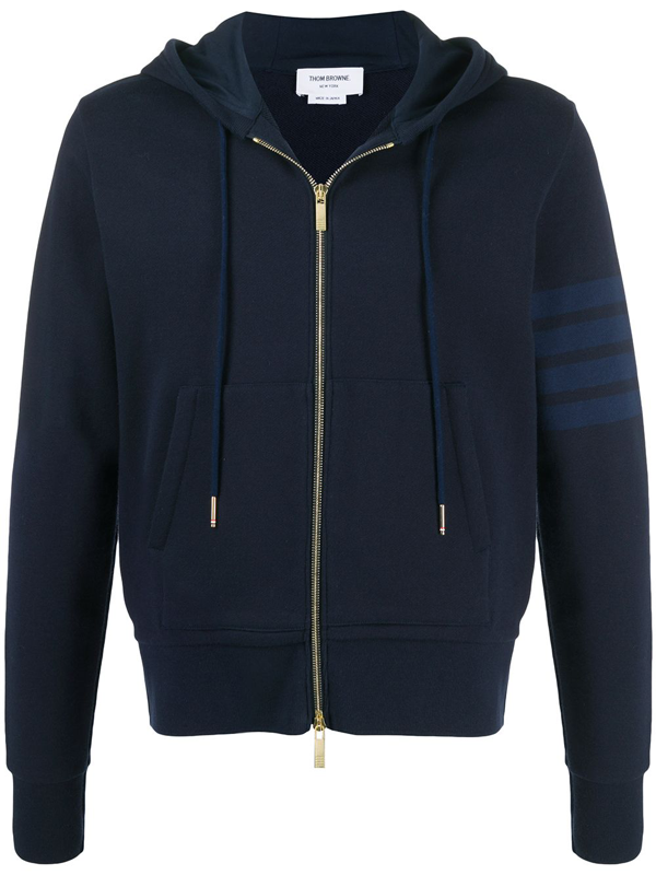 Thom Browne Sweatshirt In Blue Cotton