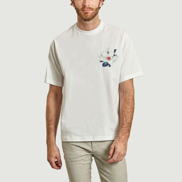 Kenzo 'tulipes' T-shirt In White