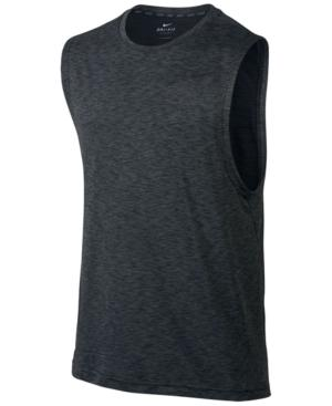 bce22411ead6e6 Nike Men s Breathe Muscle Tank In Anthracite