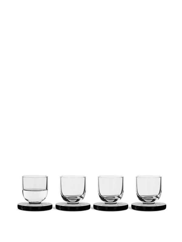 Tom Dixon Puck Shot Glasses (set Of 4) In White