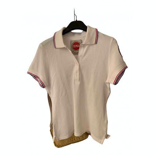 Pre-owned Colmar White Cotton  Top