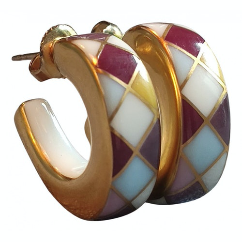 Pre-owned Bernardaud Multicolour Ceramic Earrings