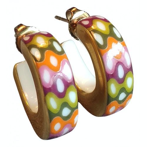 Pre-owned Bernardaud Multicolour Ceramic Earrings