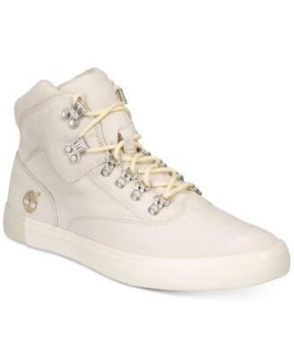 d2df6bc14 Timberland Men's Newport Bay 2.0 Canvas High Top Sneaker Men's Shoes ...