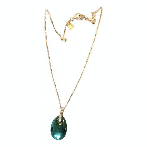Pre-owned Bernardaud Blue Silver Necklace
