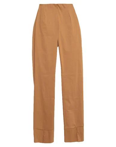 Liviana Conti Casual Pants In Brown