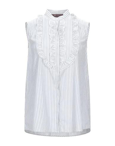 Max Mara Striped Shirt In White
