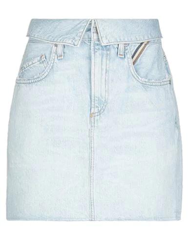 Jean Atelier Denim Skirt In Blue